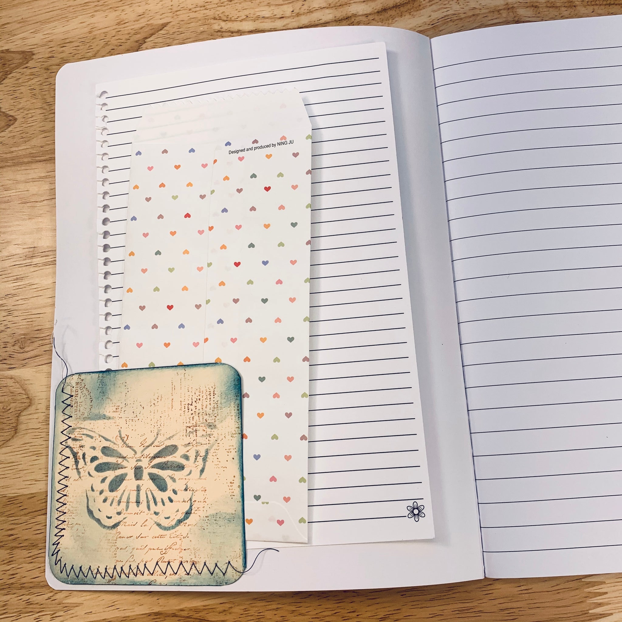 Altered Teacup Notebook- LZ