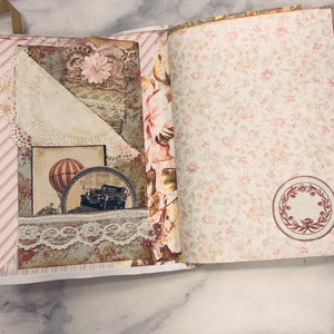 Pretty Pink Junk Journal by Pam Kennedy