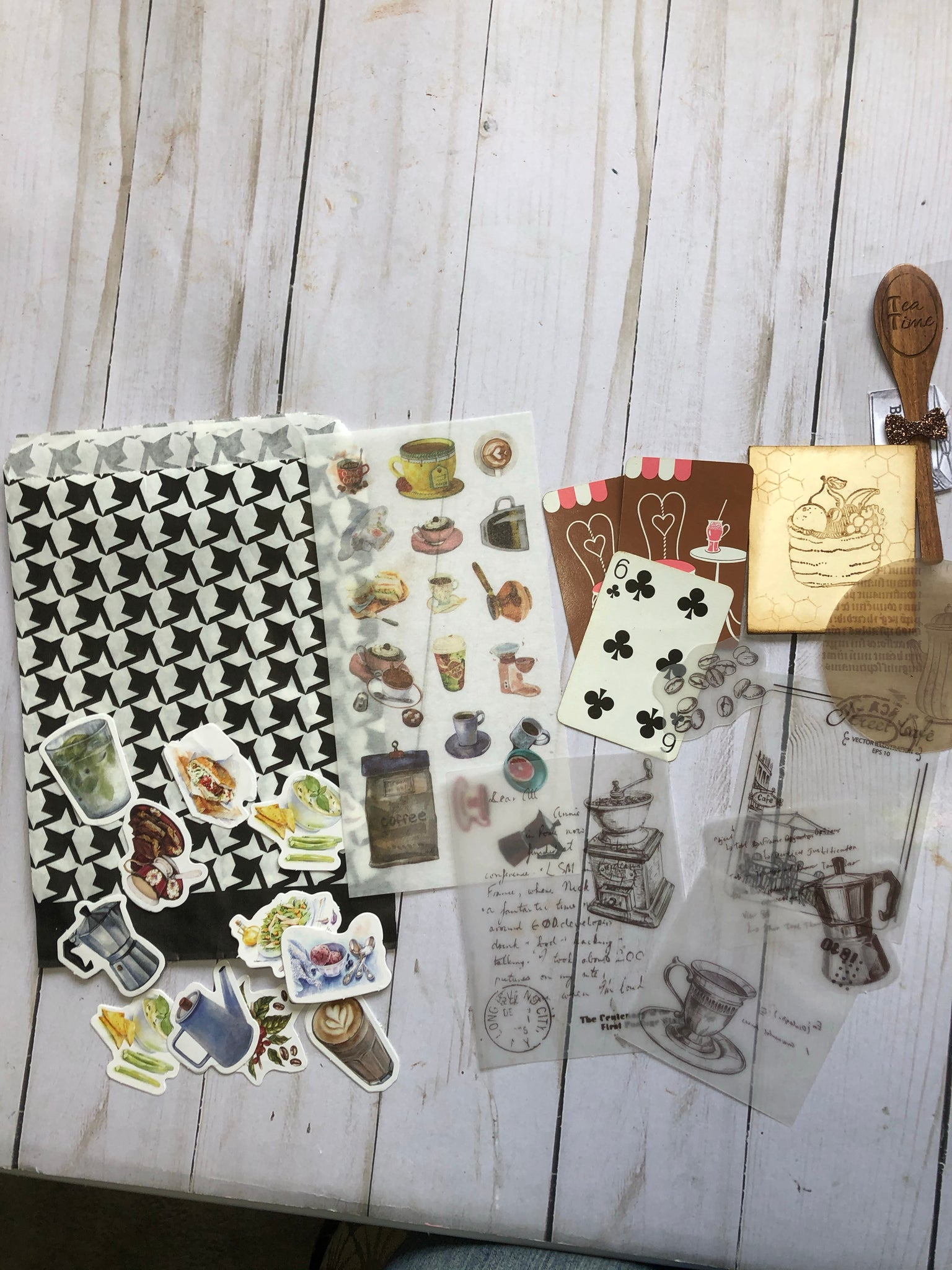 Food/Recipe Themed Stuffed Goody Bag including Journal Paper Pack - JH