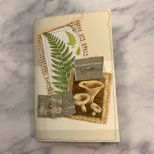 Basic Mushroom & Fern Junk Journal #4 by Lindsey