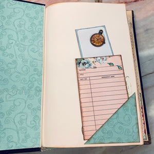 Tick Tock Junk Journal by Kim Warwick