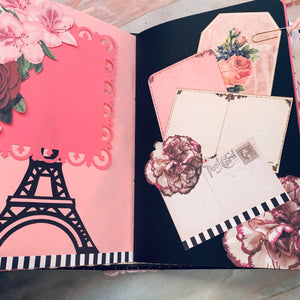 Bon Jour Junk Journal by Terri Nix (Feb Challenge Journal)