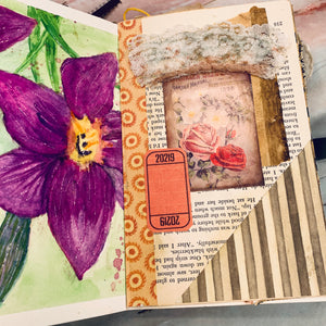 Coptic Stitch Junk Journal by Barb Plude