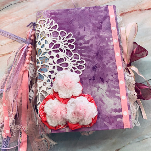 Purr-fectly Pink Junk Journal by Yvette Quale