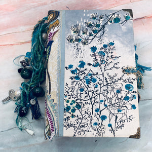 Blue Nature Junk Journal by Barb Plude