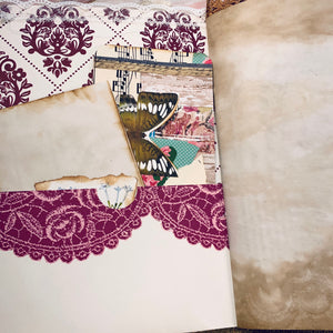 Pretty Pinks Junk Journal by Connie Harvey