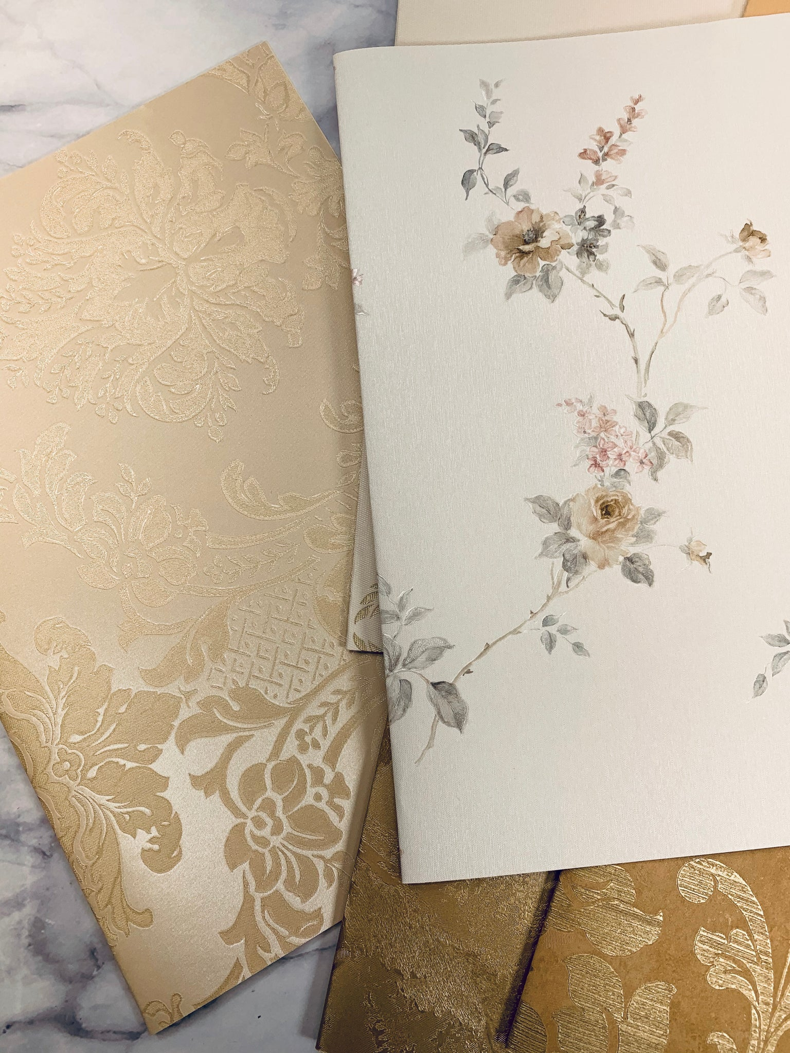 Touch of Gold Wallpaper Collection set of 6 -LZ