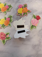 Magnetic Floral Page Clips set of 10 - LZ