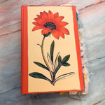 Peachy Flowers Junk Journal by Yesenia Diaz (Feb Challenge Journal)