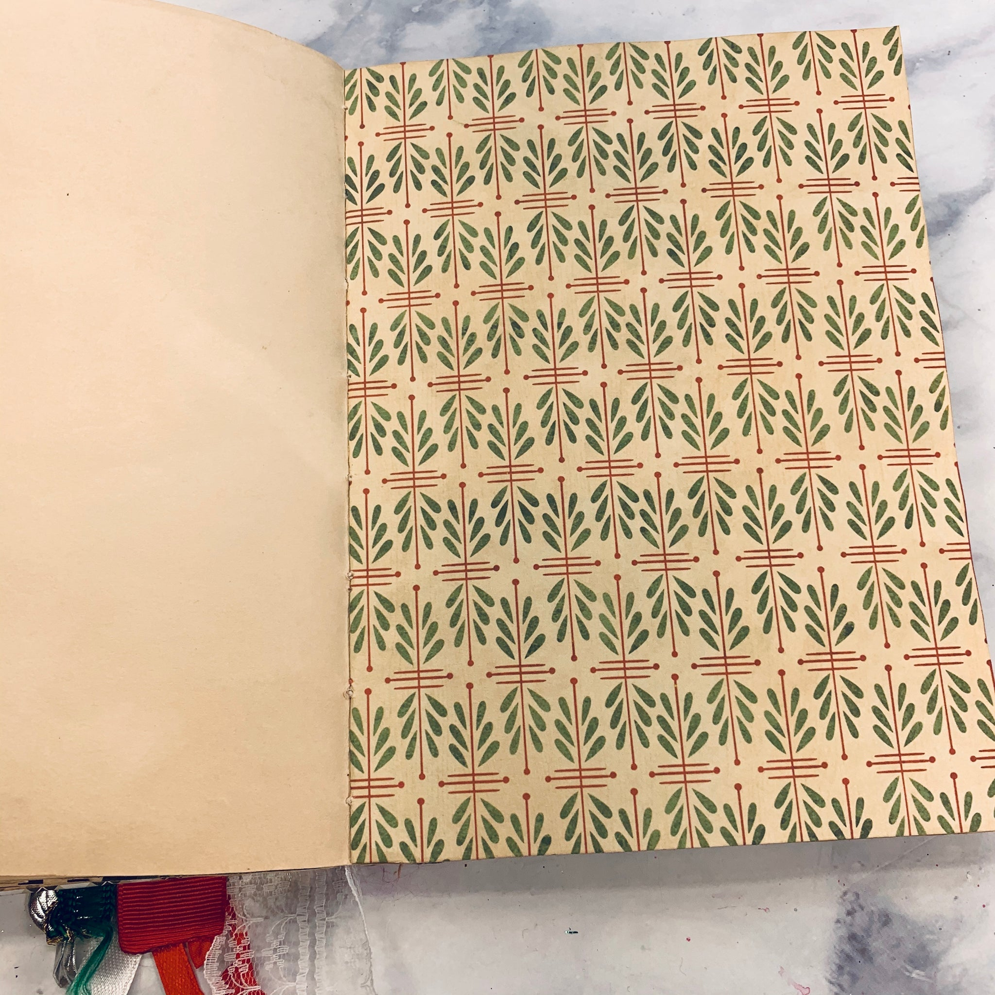 Christmas Copic Stitch Journal by Mehataj from India