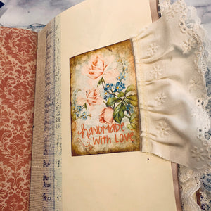 Ladies in Nature Junk Journal by Barb Plude