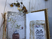 Vintage Style Coffee Journal - JH