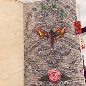 Patchwork Moth Junk Journal by Janice Brammer