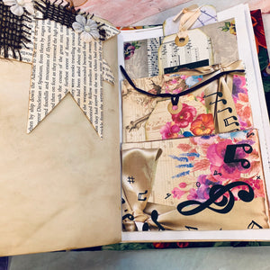 Junk Journal by Maria Gonzales (March Challenge)