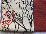 Berries & Branches Upholstery Fabric  Samples