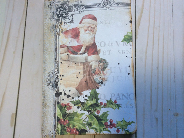 Altered Christmas Notebook - JH
