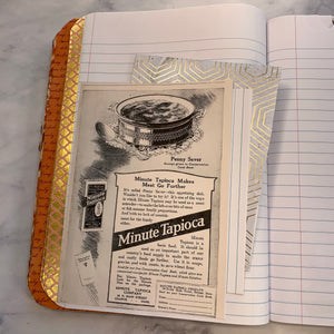 Altered Composition Cookbook Journal by Vickey Phelps