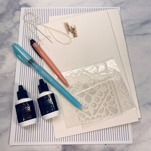 Liquid Sparkle Art Journal Kit - LZ