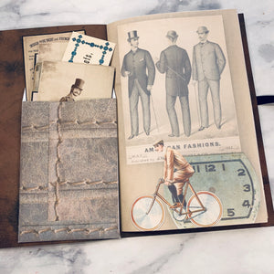 What He Wore Budget Junk Journal #4 - LZ