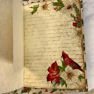 Cardinal Rose Junk Journal by Cheryl Howe
