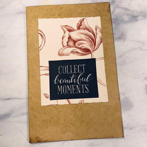 Beautiful Moments Journal Cover - LZ
