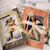 Angel Decorate Your Own Junk Journal set of 2 by Tami Sohn