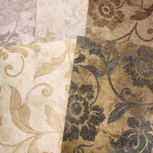Milliner's Brocade Wallpaper Collection- LZ