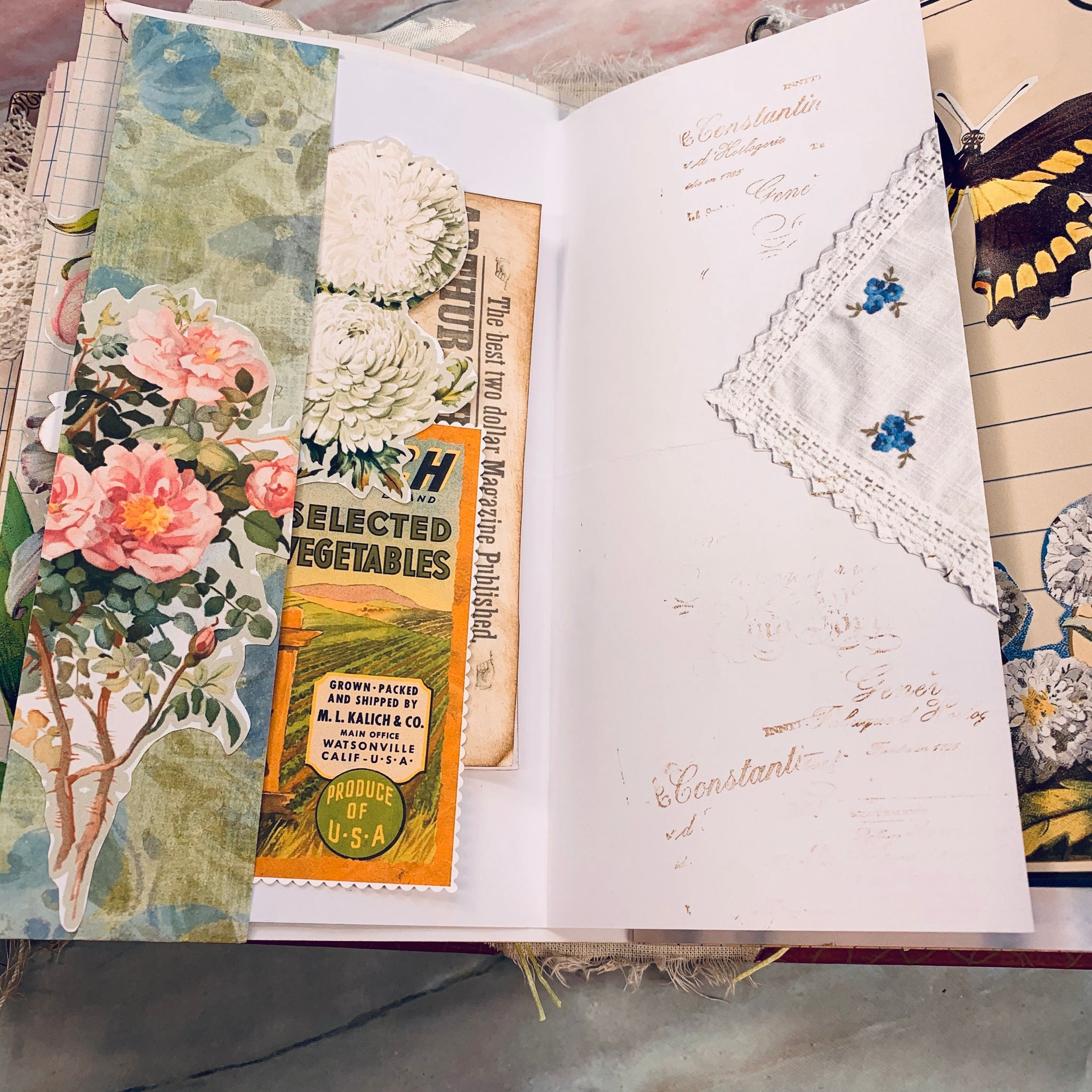 Peaceful Country Junk Journal by Tami Sohn (Feb Journal Challenge)