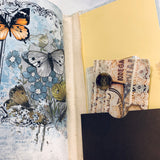 Blue Butterflies Junk Journal by Robin Atkinson