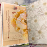 Teal Floral Junk Journal by Lisa Masquelier (AprCh)