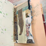 Collaged Junk Journal with Tassel - LZ