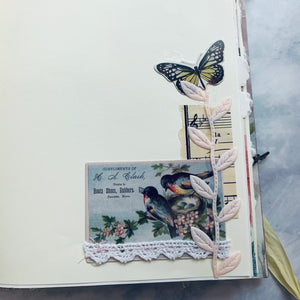Blooms & Butterfies Junk Journal by Priscilla Coumos