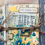 Set of 3 Wallpaper Scraps Junk Journals by Rita Henderson