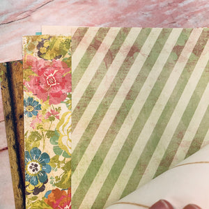 Vintage Floral Junk Journal Kit by Elizabeth Knapp