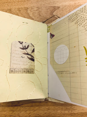 Nature's Rhapsody Junk Journal by Helen Bruno