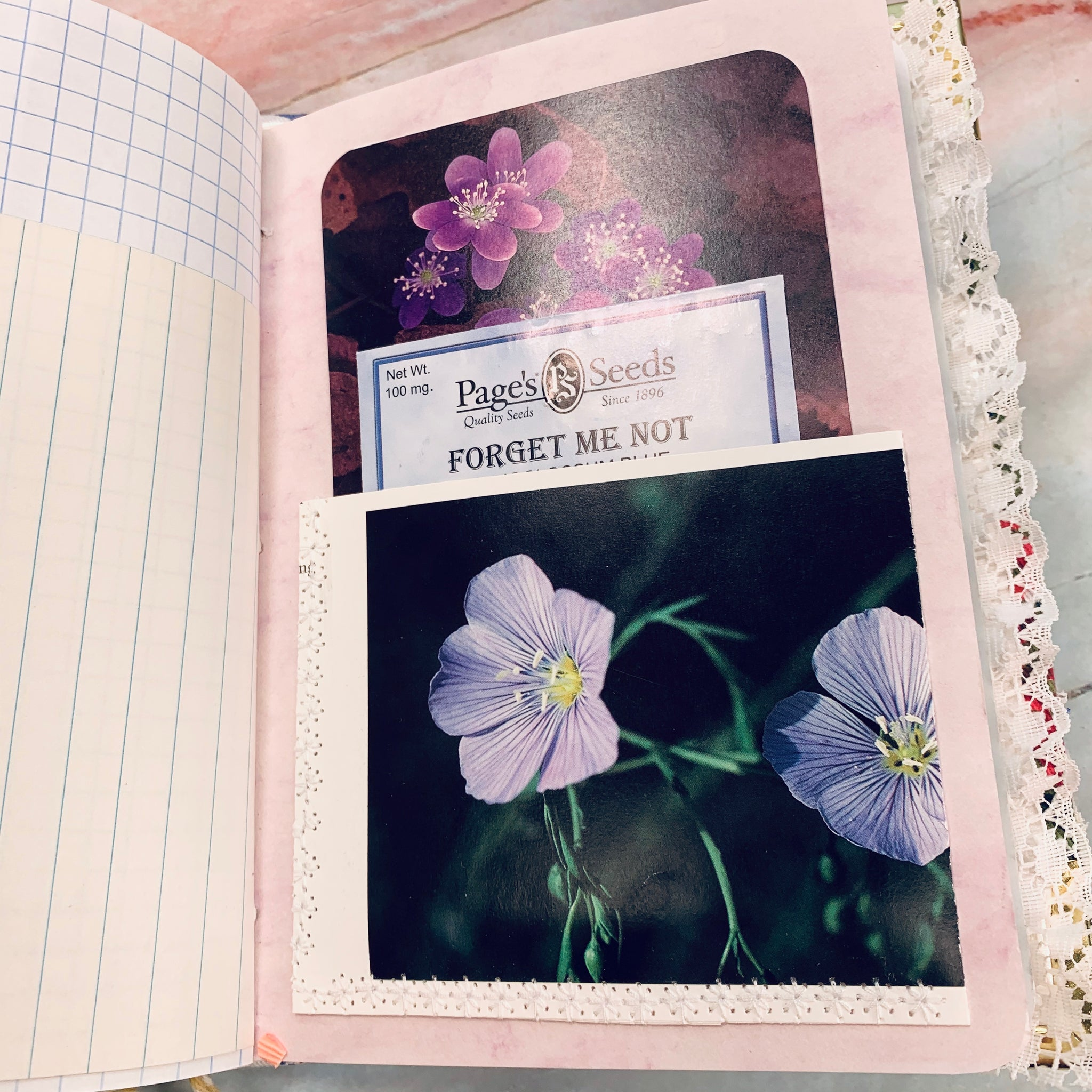 Flower Garden Junk Journal by Cindy Anderson (AprCh)