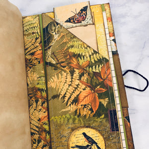 Fall Animals Junk Journals set of 2  by Wendy Blanish