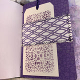 Lavender Lady Journal by Vickey Phelps