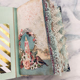 Pastel Christmas Junk Journal by Jane Dilley