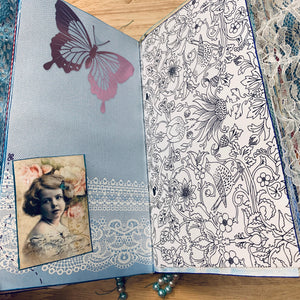 Tea Junk Journal by Trisha Cole (Feb. Challenge Journal)