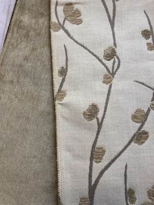 Pretty Vines Upholstery Fabric Samples- JH