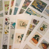 Cardstock Ephemera Print Lot of 20