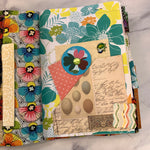 Quilted Garden Junk Journal by Louise Lucero