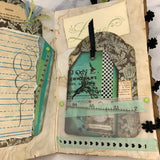 Pearl Butterfly Junk Journal by Deb Ferrell