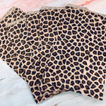 Leopard Print Bags 6x9 set of 10- LZ