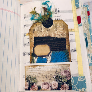 Wings & Roses Junk Journal by Debbie Ferrell