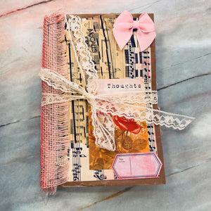 Thoughts Junk Journal by Sasha Shamblen (Feb Challenge Journal)