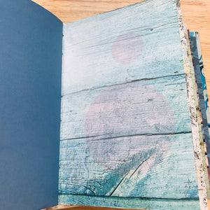 Blue Marble Junk Journal by Sophie from China