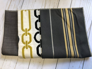 Golden Links Upholstery Fabric Samples - JH