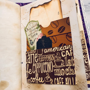 Coffee Junk Journal by Jane Dilley